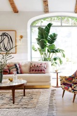 The Best Bohemian Farmhouse Decorating Ideas For Your Living Room 02