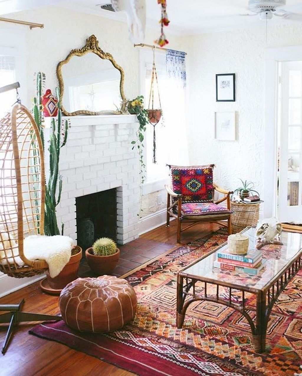 The Best Bohemian Farmhouse Decorating Ideas For Your Living Room 09