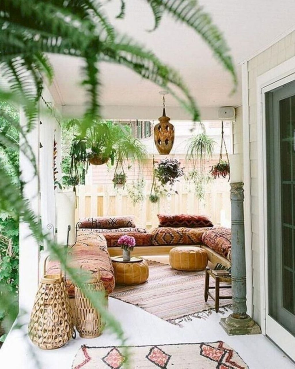 The Best Bohemian Farmhouse Decorating Ideas For Your Living Room 16