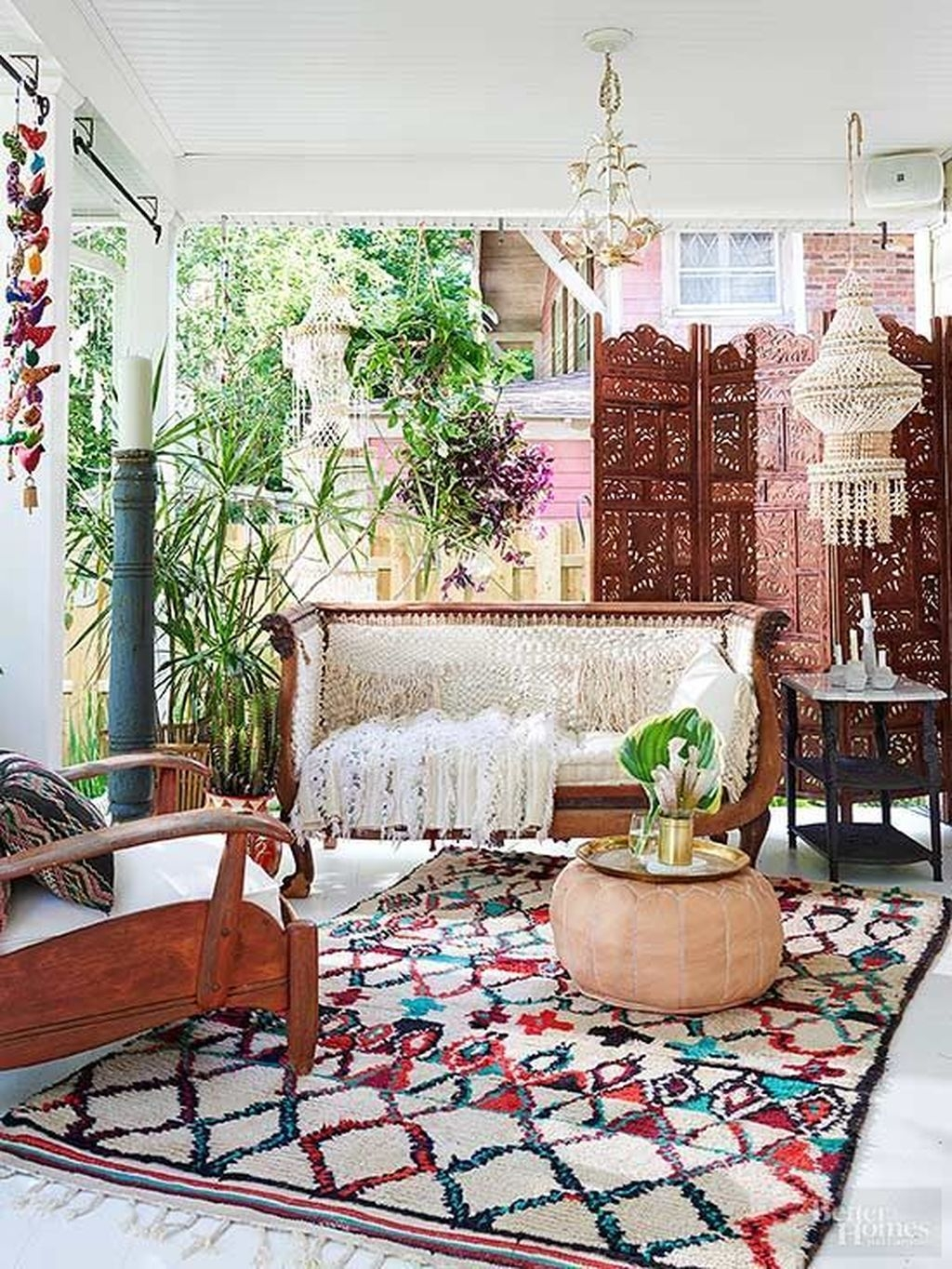 The Best Bohemian Farmhouse Decorating Ideas For Your Living Room 21