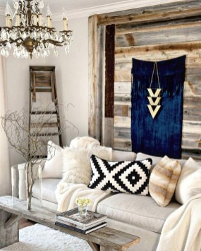 The Best Bohemian Farmhouse Decorating Ideas For Your Living Room 23