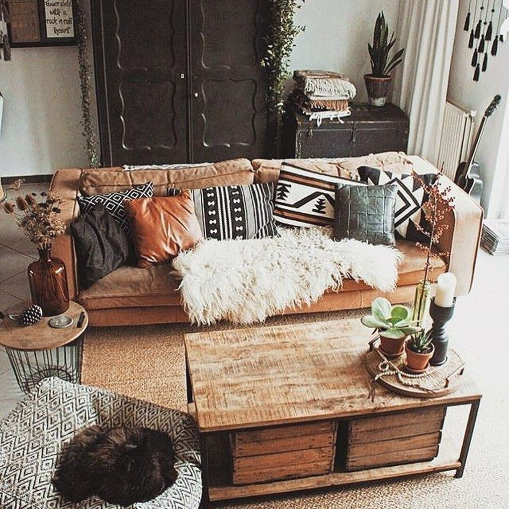 The Best Bohemian Farmhouse Decorating Ideas For Your Living Room 28