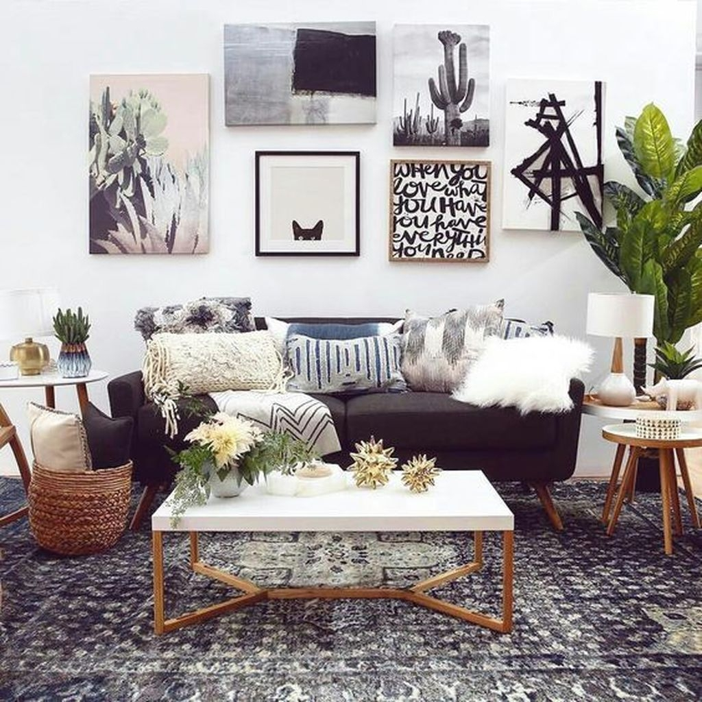 The Best Bohemian Farmhouse Decorating Ideas For Your Living Room 39