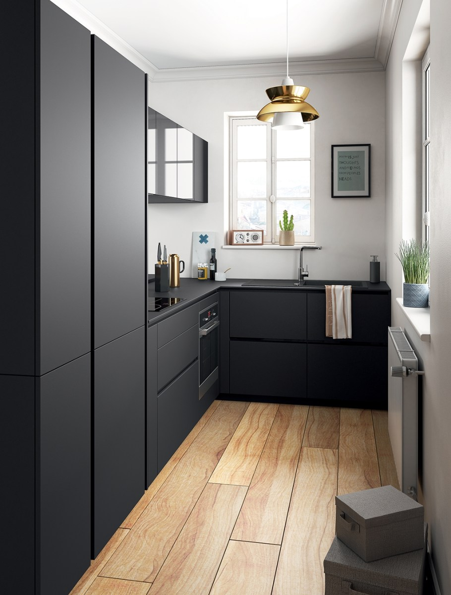 Totally Inspiring Small Kitchen Design Ideas For Your Small Home 19