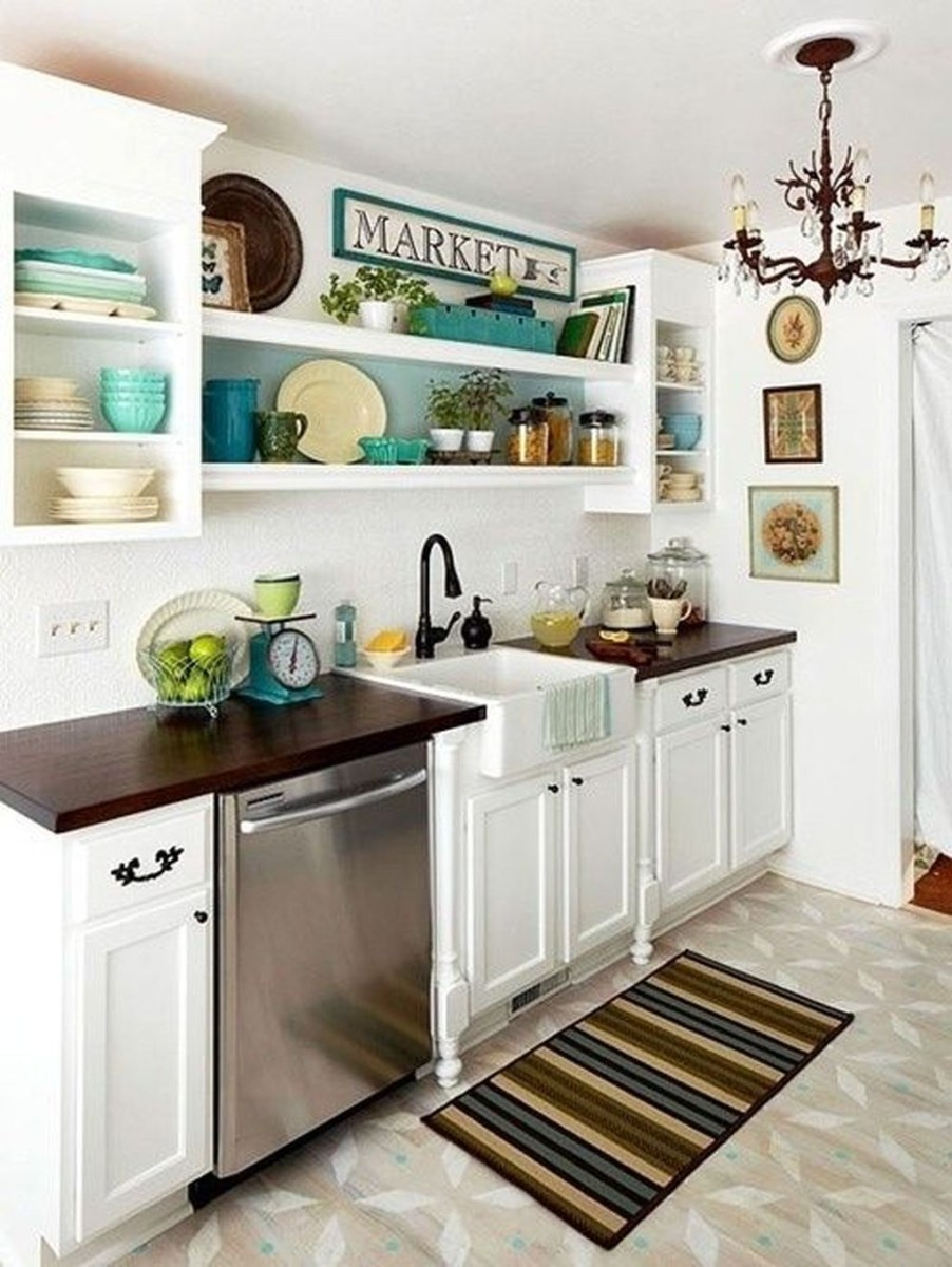 Totally Inspiring Small Kitchen Design Ideas For Your Small Home 28