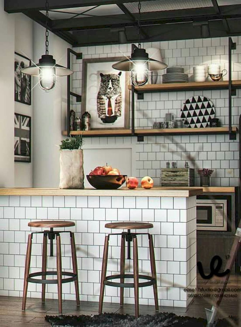 Totally Inspiring Small Kitchen Design Ideas For Your Small Home 36