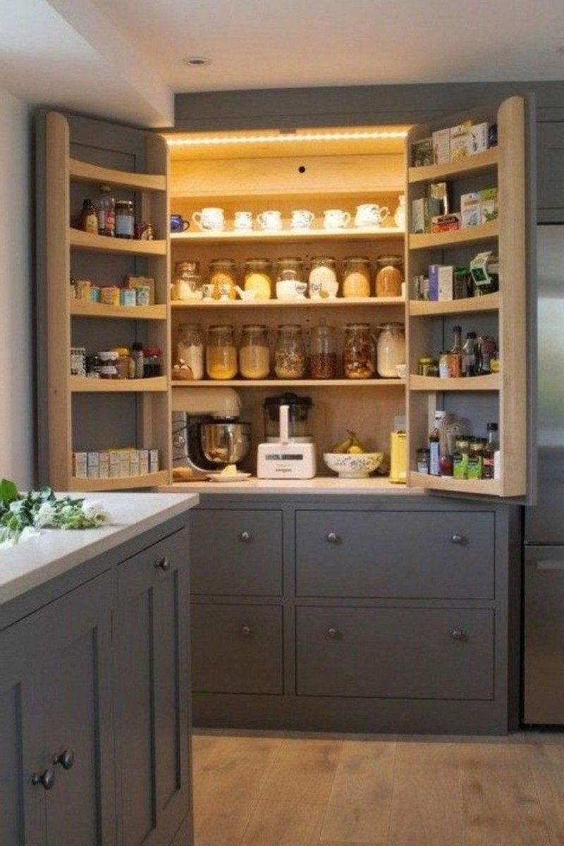 Totally Inspiring Small Kitchen Design Ideas For Your Small Home 39