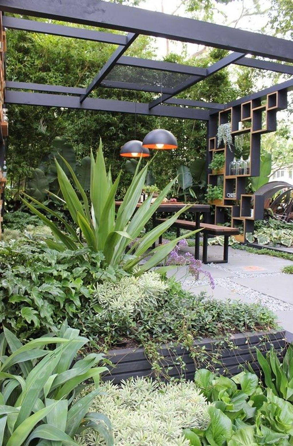 Awesome Modern Garden Architecture Design Ideas 49