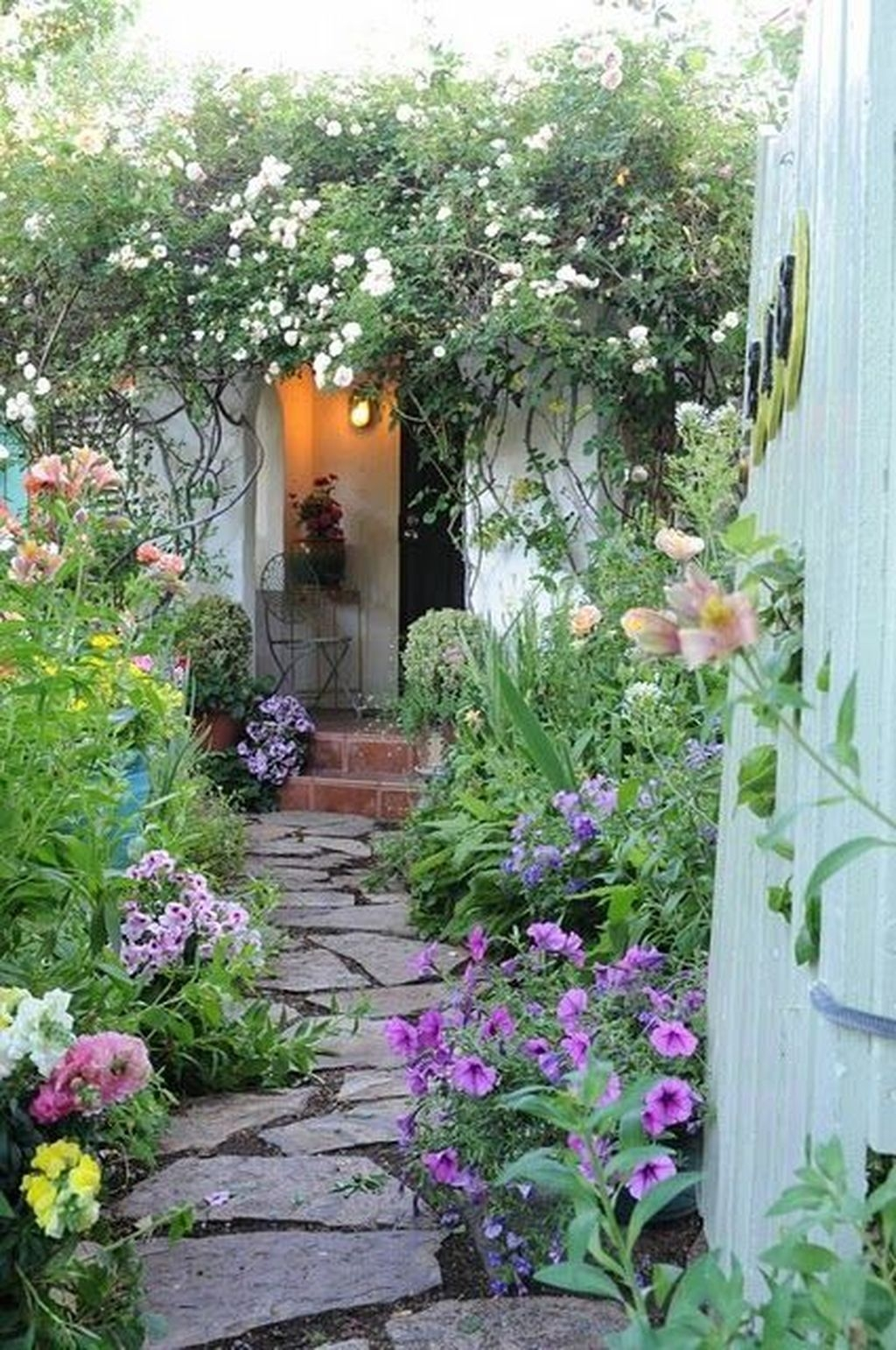 Beautiful Flower Garden Design Ideas 02