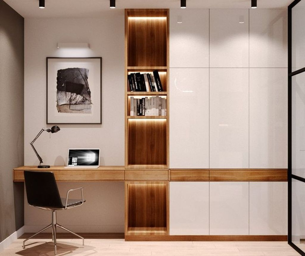 Inspiring Home Office Design Ideas 27