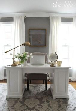 Inspiring Home Office Design Ideas 34