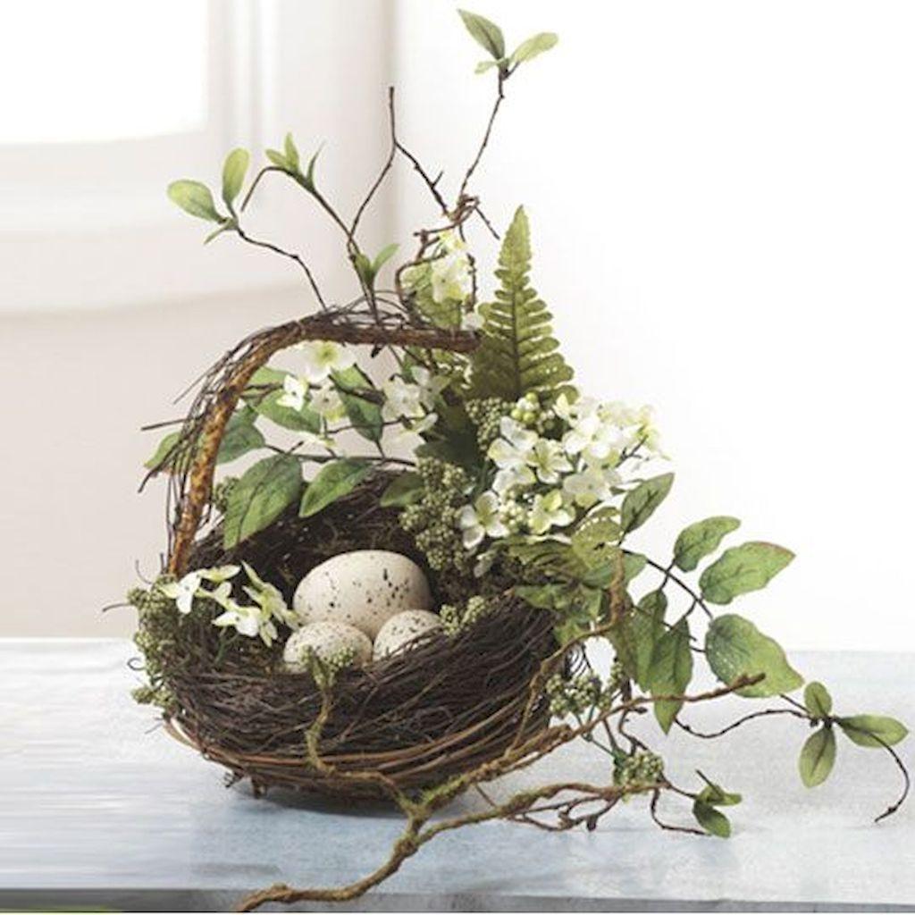 Lovely Easter Living Room Decor Ideas 27