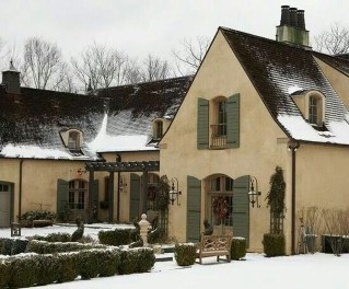 Stylish French Country Exterior For Your Home Design Inspiration 02