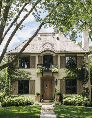 Stylish French Country Exterior For Your Home Design Inspiration 11