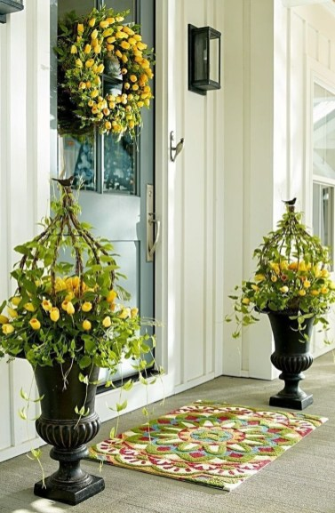 The Best Spring Porch Decoration Ideas 13