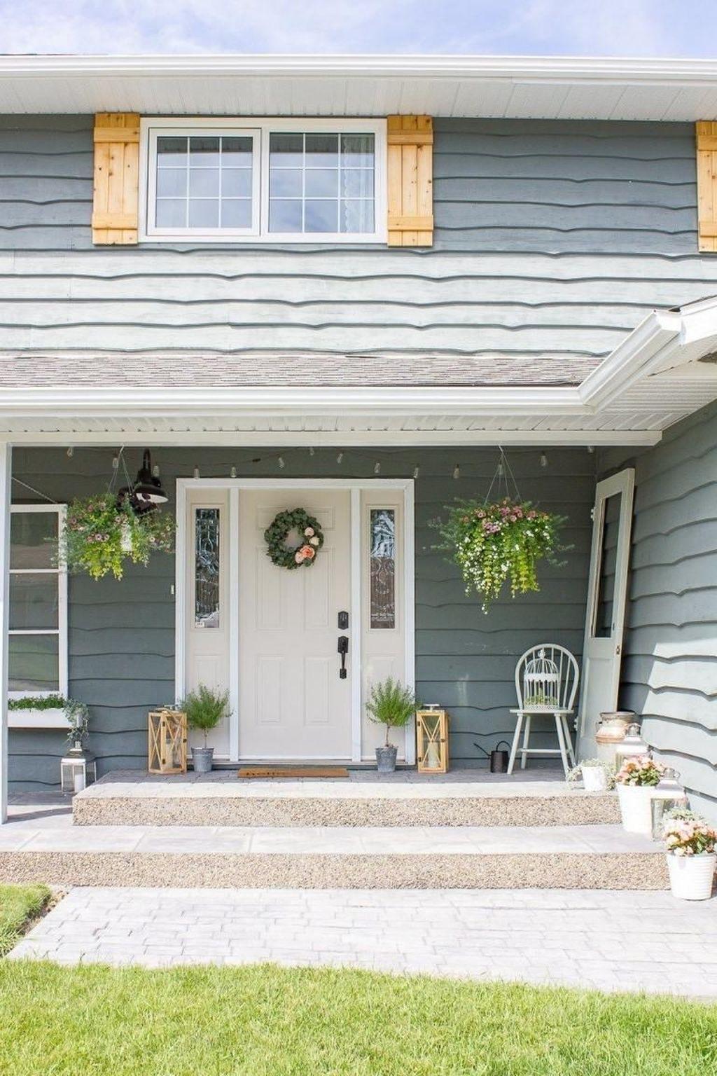 The Best Spring Porch Decoration Ideas 16
