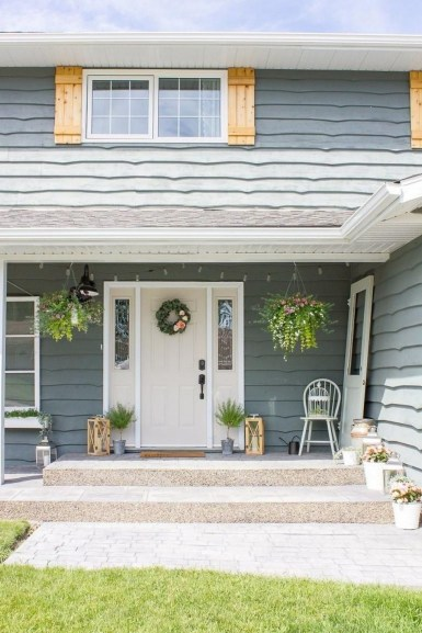 The Best Spring Porch Decoration Ideas 16