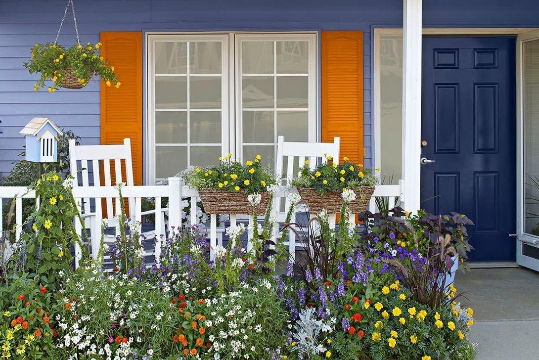 The Best Spring Porch Decoration Ideas 41