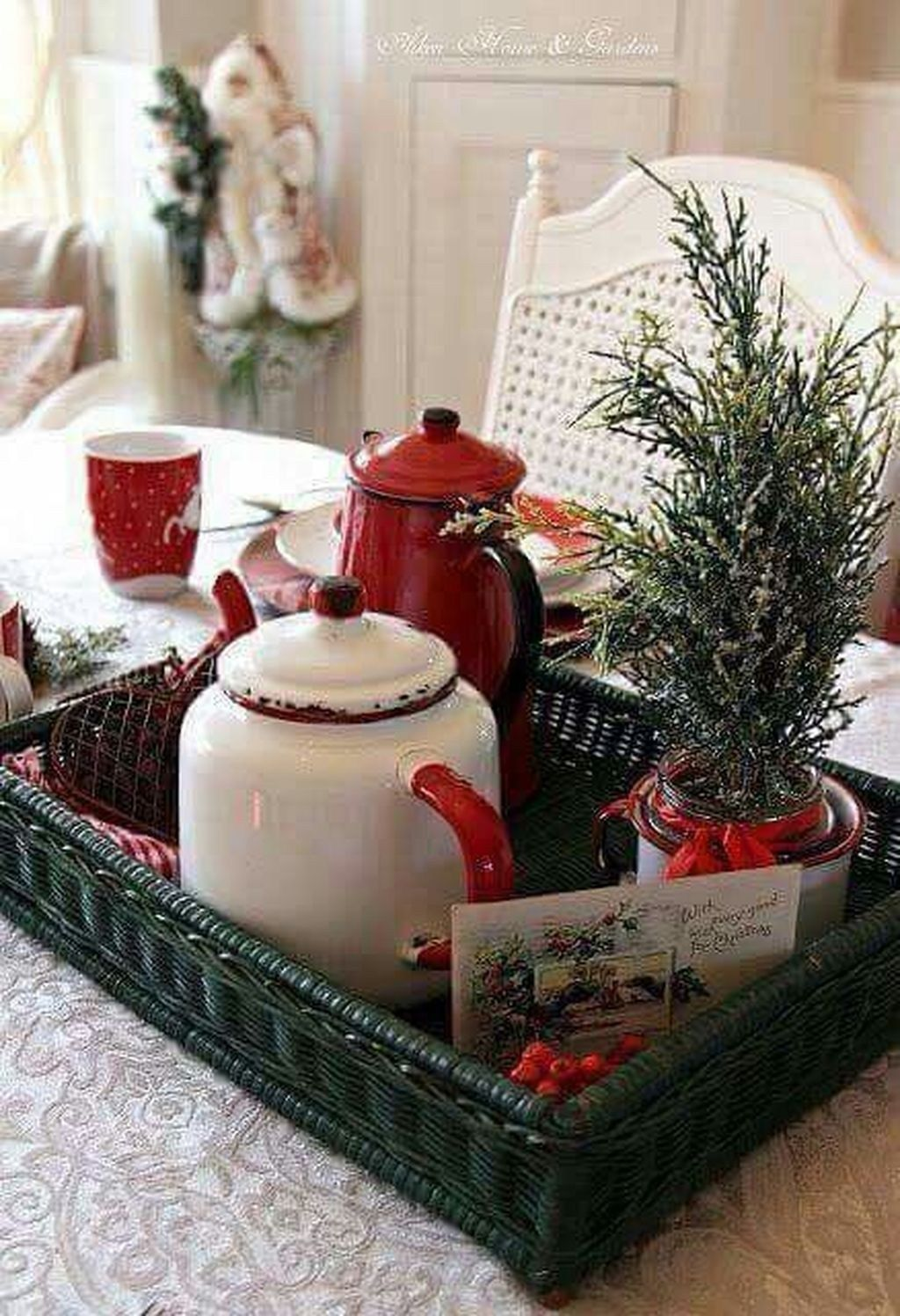 Amazing Christmas Decor For Kitchen Table 09