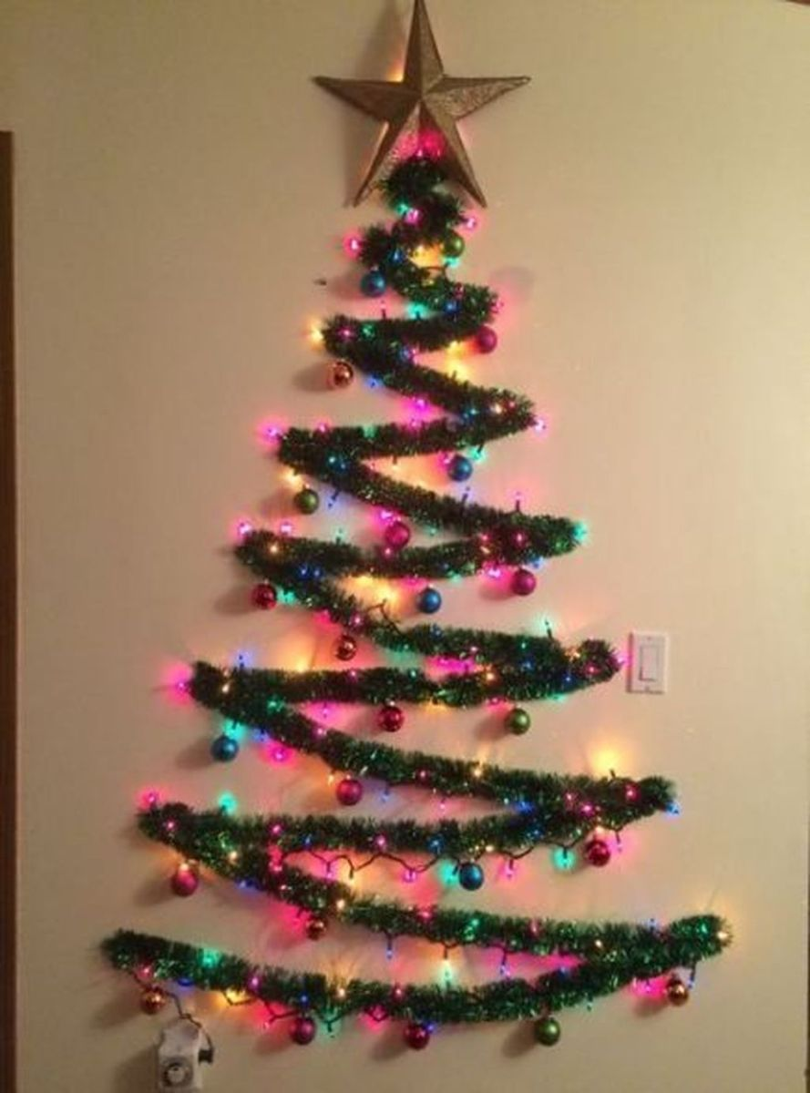 Amazing Christmas Lights Tree Decoration Ideas 04