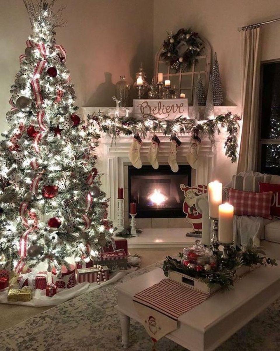 Amazing Christmas Lights Tree Decoration Ideas 16