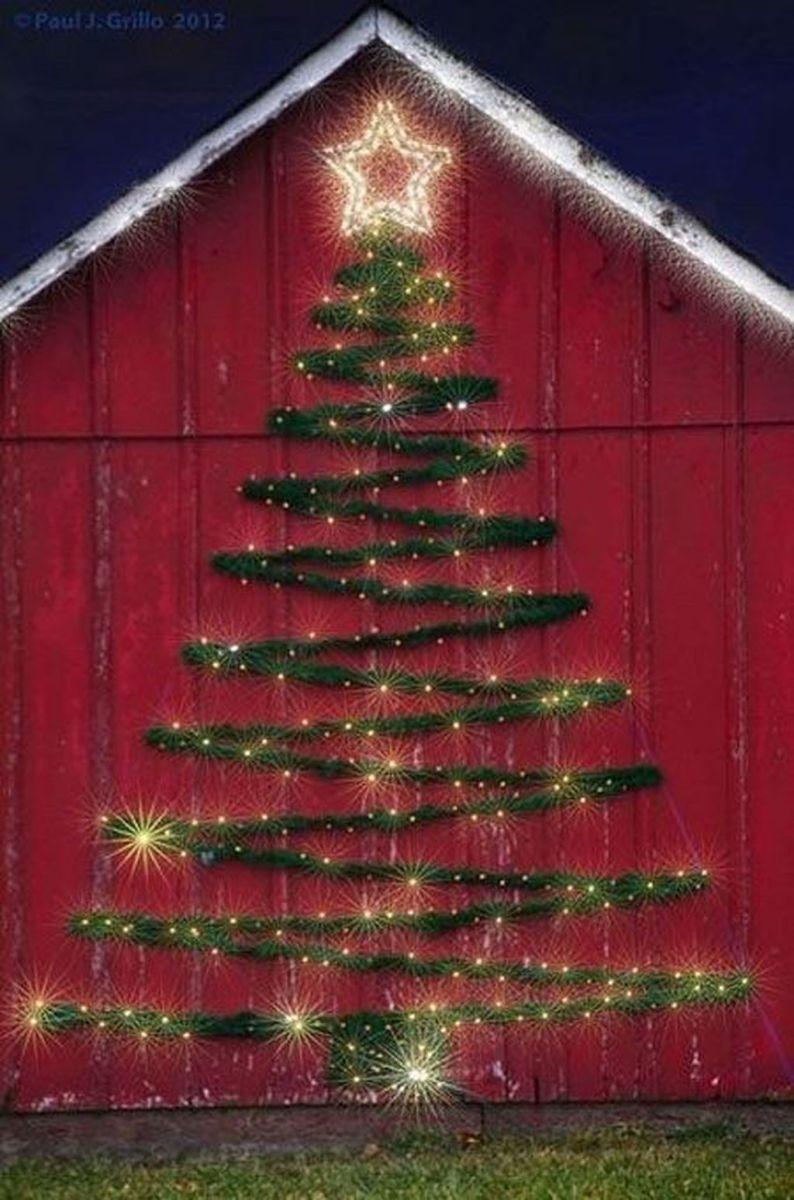 Amazing Christmas Lights Tree Decoration Ideas 25