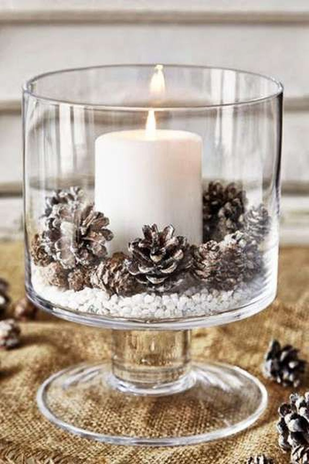 Fabulous Christmas Pine Cone Decorations 30
