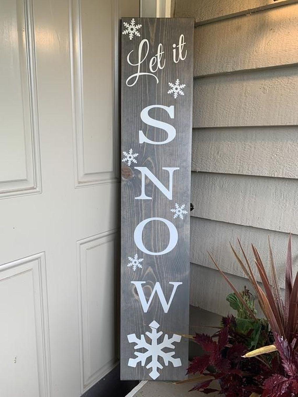 Gorgeous Winter Porch Decor Ideas 12