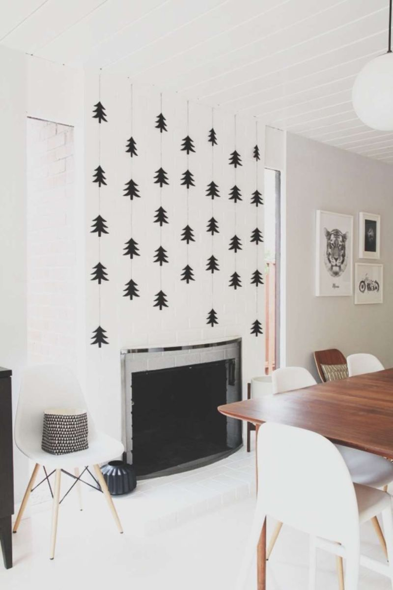 Lovely Christmas Wall Decor Ideas For Your Homes 25
