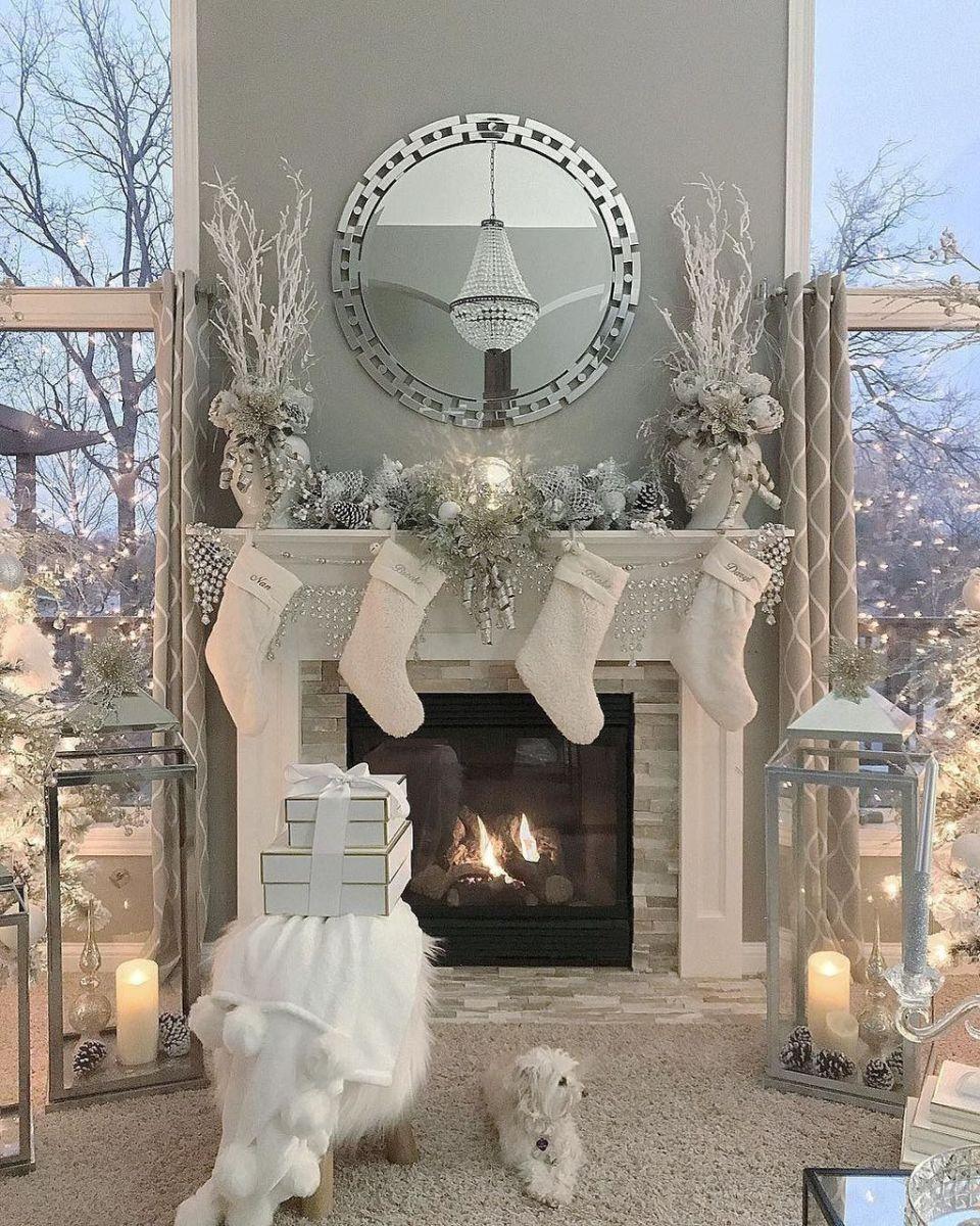 Lovely Winter Wonderland Home Decoration Ideas Look Beautiful 01