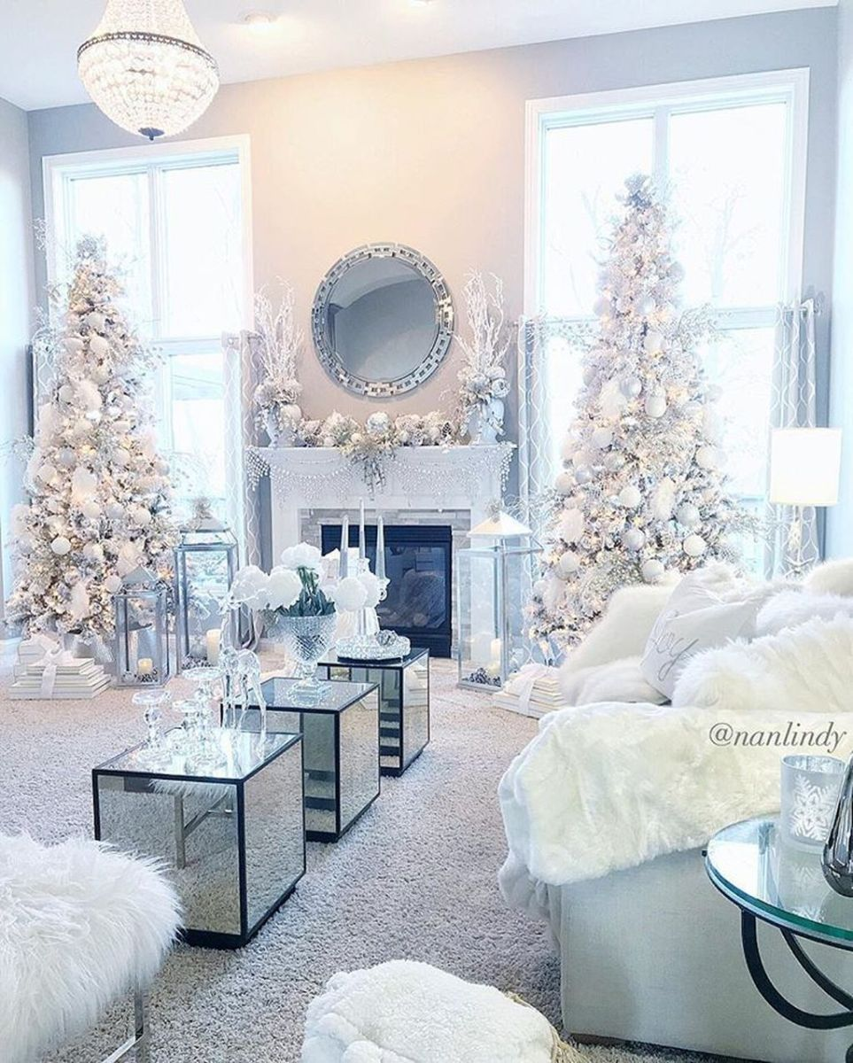 Lovely Winter Wonderland Home Decoration Ideas Look Beautiful 18