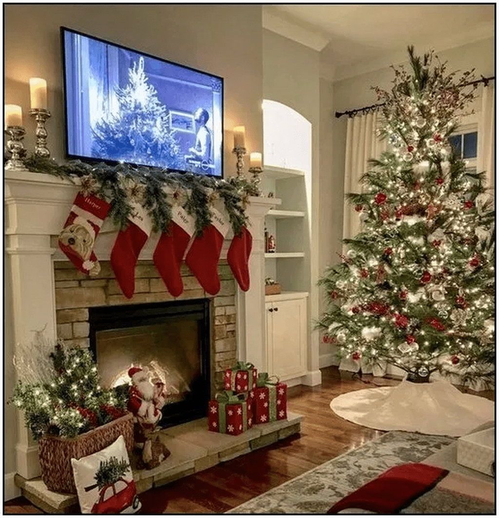 Lovely Winter Wonderland Home Decoration Ideas Look Beautiful 23