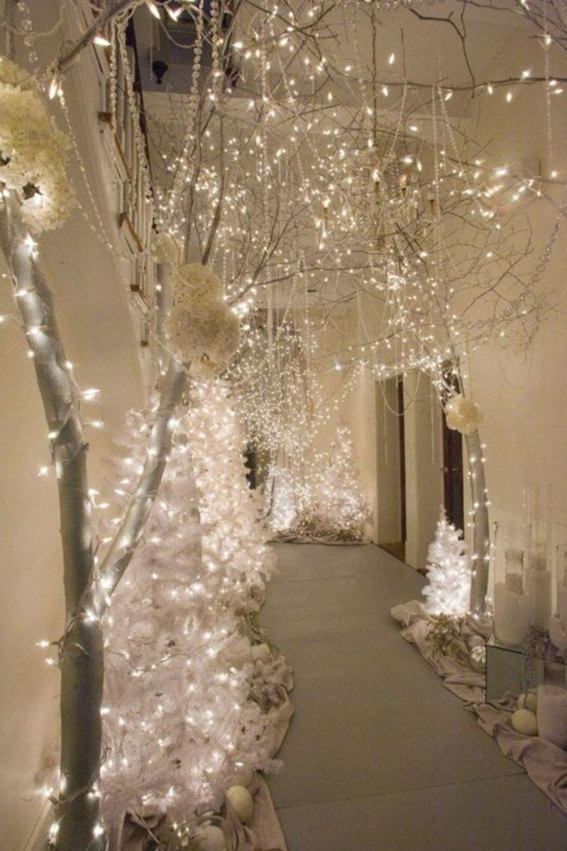 Lovely Winter Wonderland Home Decoration Ideas Look Beautiful 31