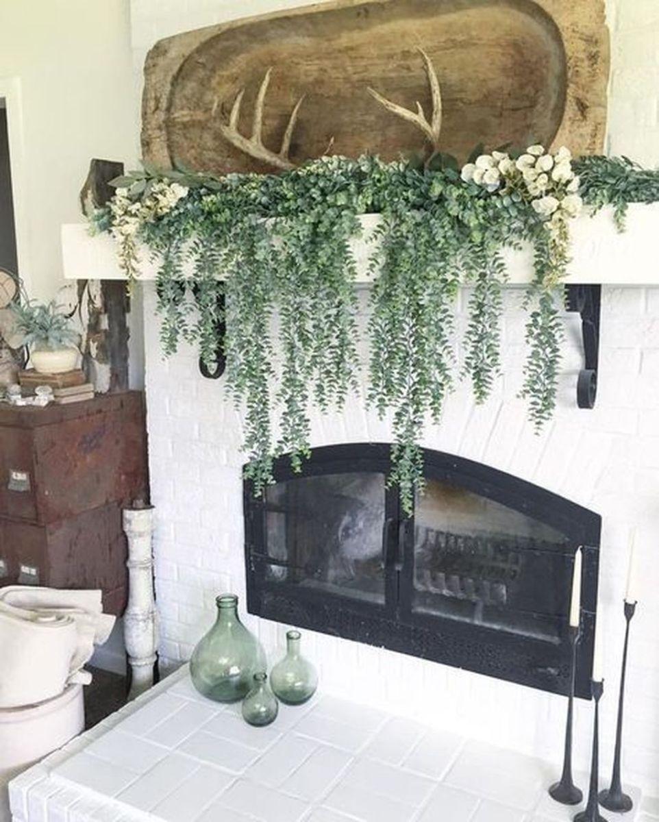 Nice Fireplace Decor Ideas Best For Wintertime 01