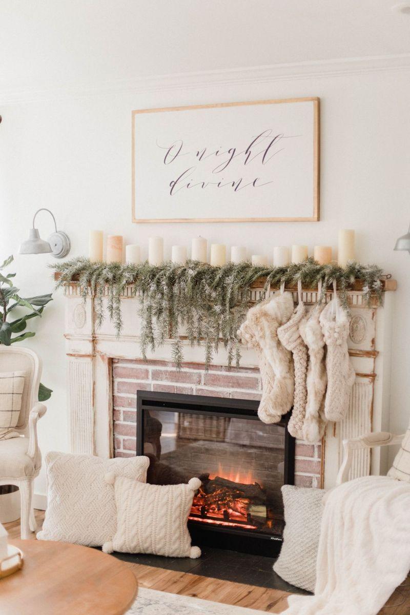 Nice Fireplace Decor Ideas Best For Wintertime 02
