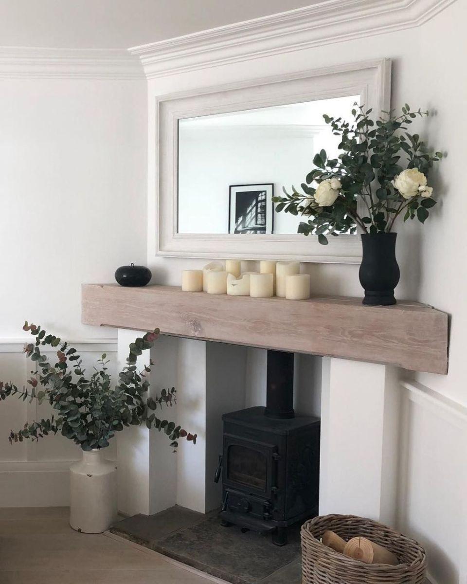 Nice Fireplace Decor Ideas Best For Wintertime 04