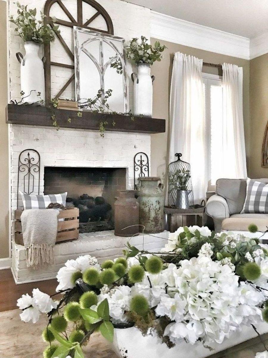Nice Fireplace Decor Ideas Best For Wintertime 09