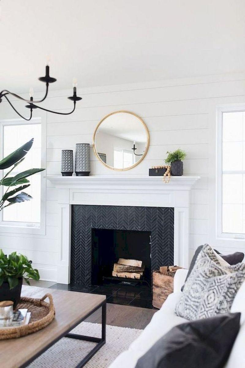 Nice Fireplace Decor Ideas Best For Wintertime 16