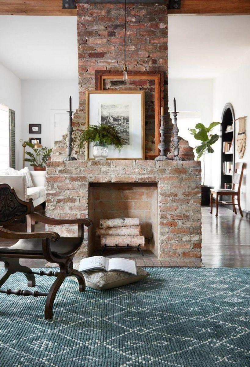Nice Fireplace Decor Ideas Best For Wintertime 22