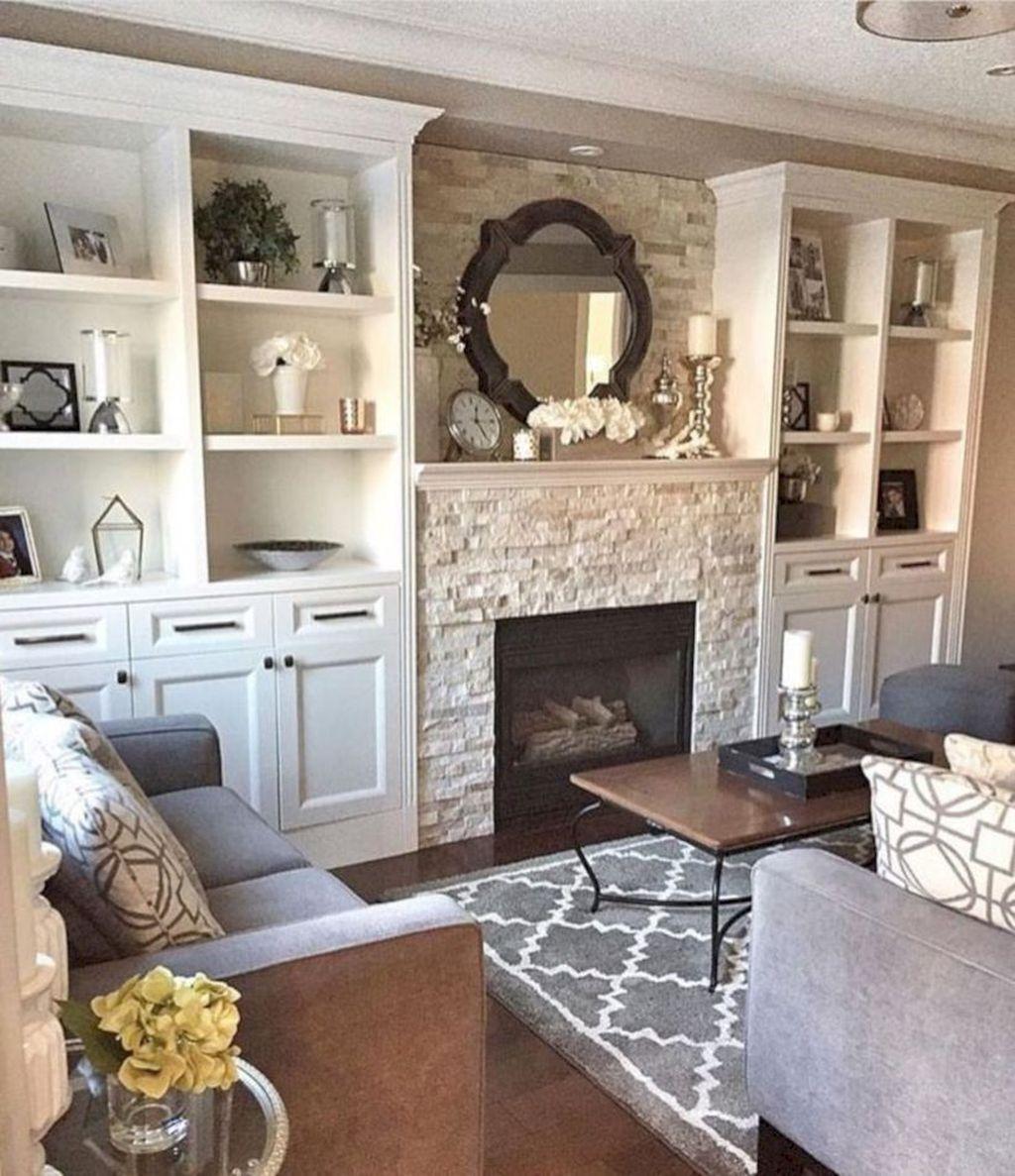 Nice Fireplace Decor Ideas Best For Wintertime 33