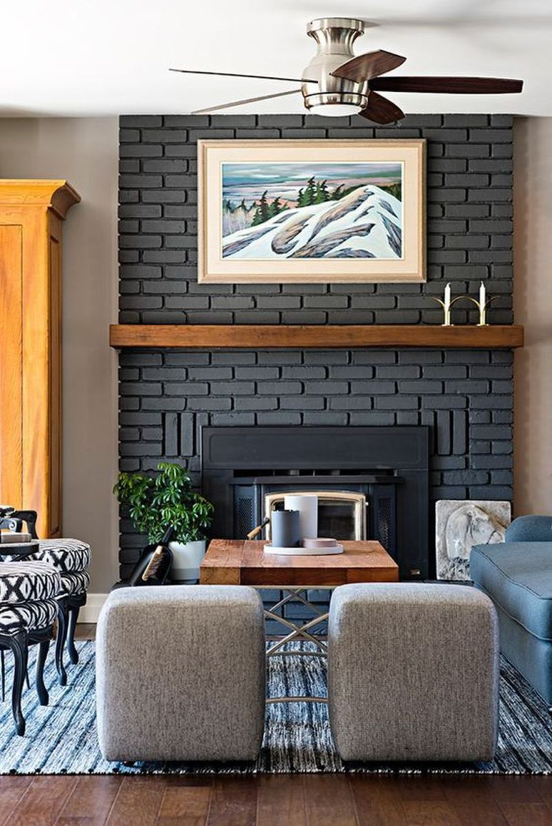 Nice Fireplace Decor Ideas Best For Wintertime 35