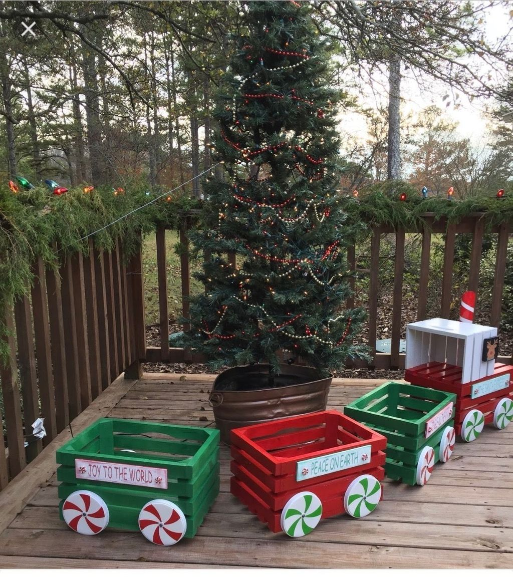 Nice Outdoor Christmas Decorations Perfect For This Winter 15