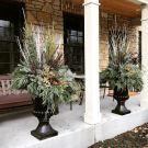 Perfect Outdoor Winter Planters Ideas 01
