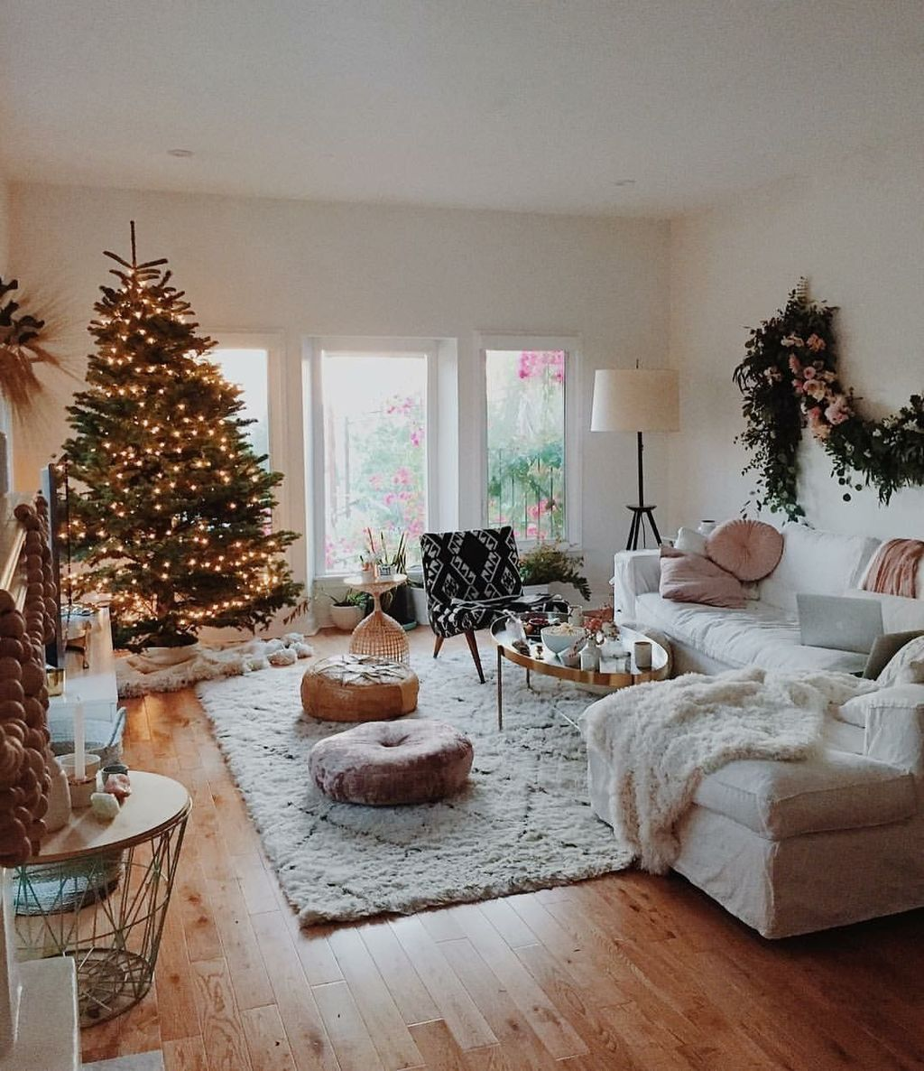 Popular Christmas Theme Apartment Decorations 03