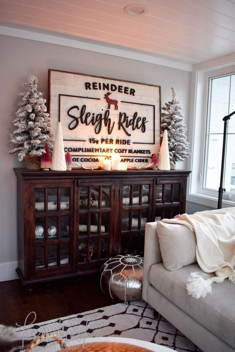 Popular Christmas Theme Apartment Decorations 04