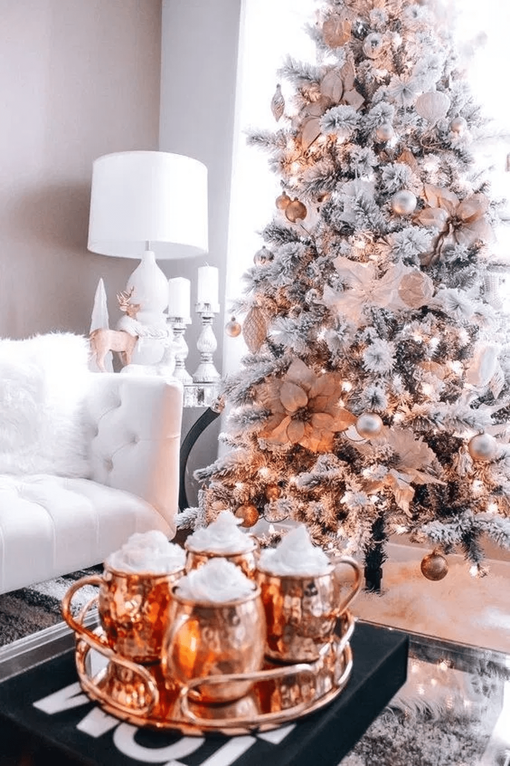 Popular Christmas Theme Apartment Decorations 05