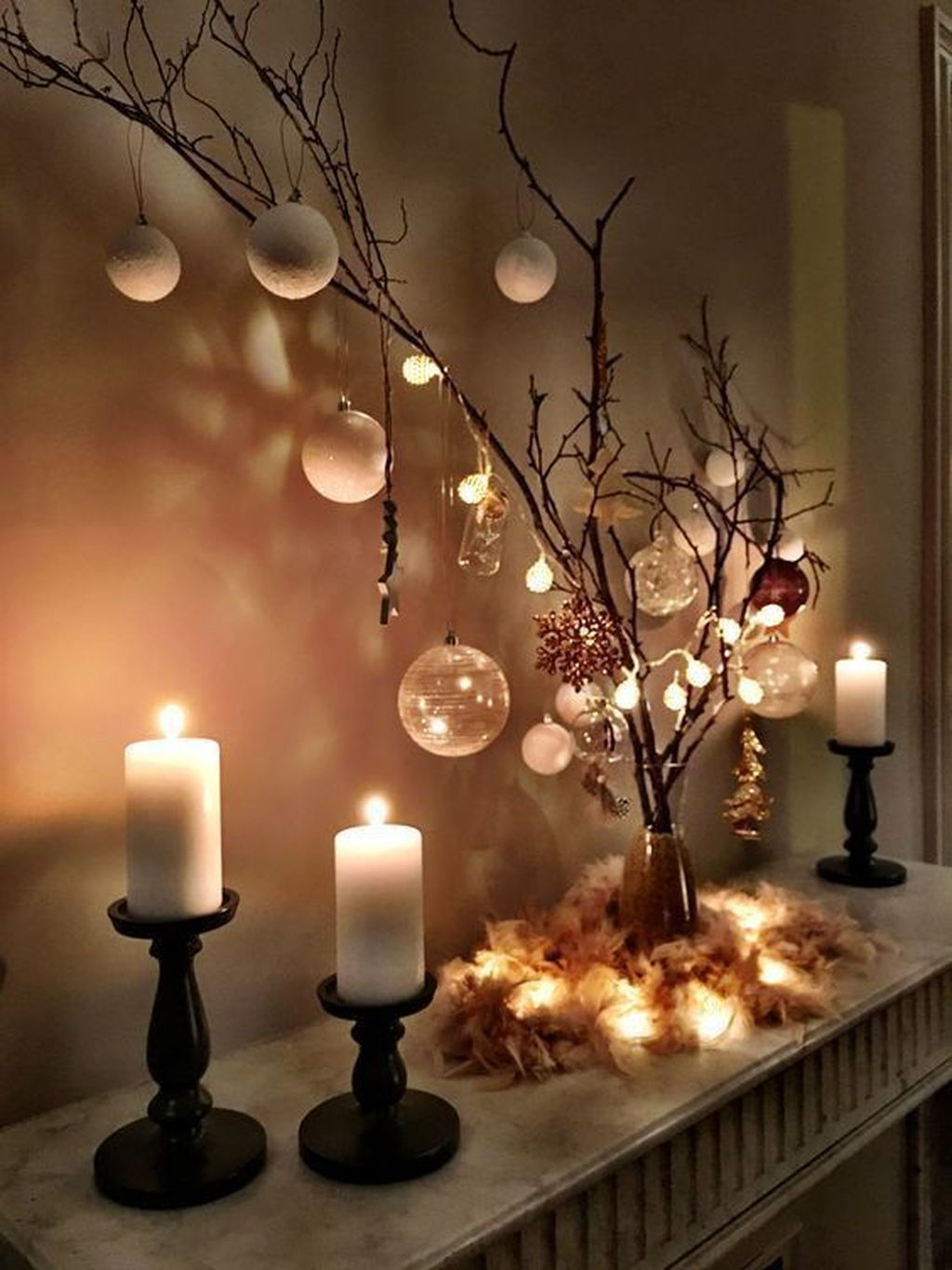 Popular Christmas Theme Apartment Decorations 19