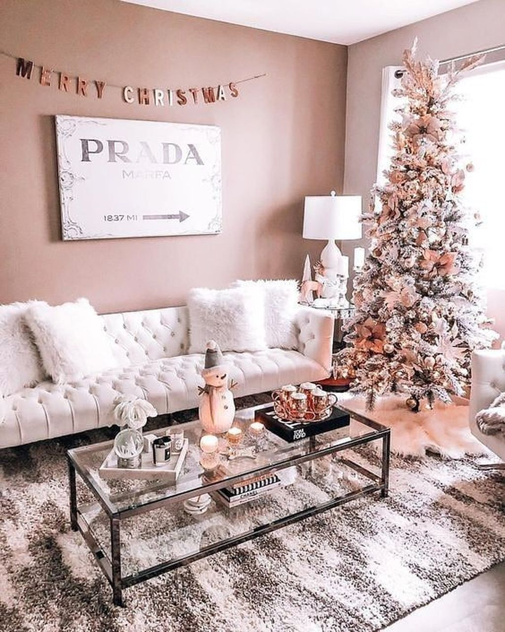 Popular Christmas Theme Apartment Decorations 31
