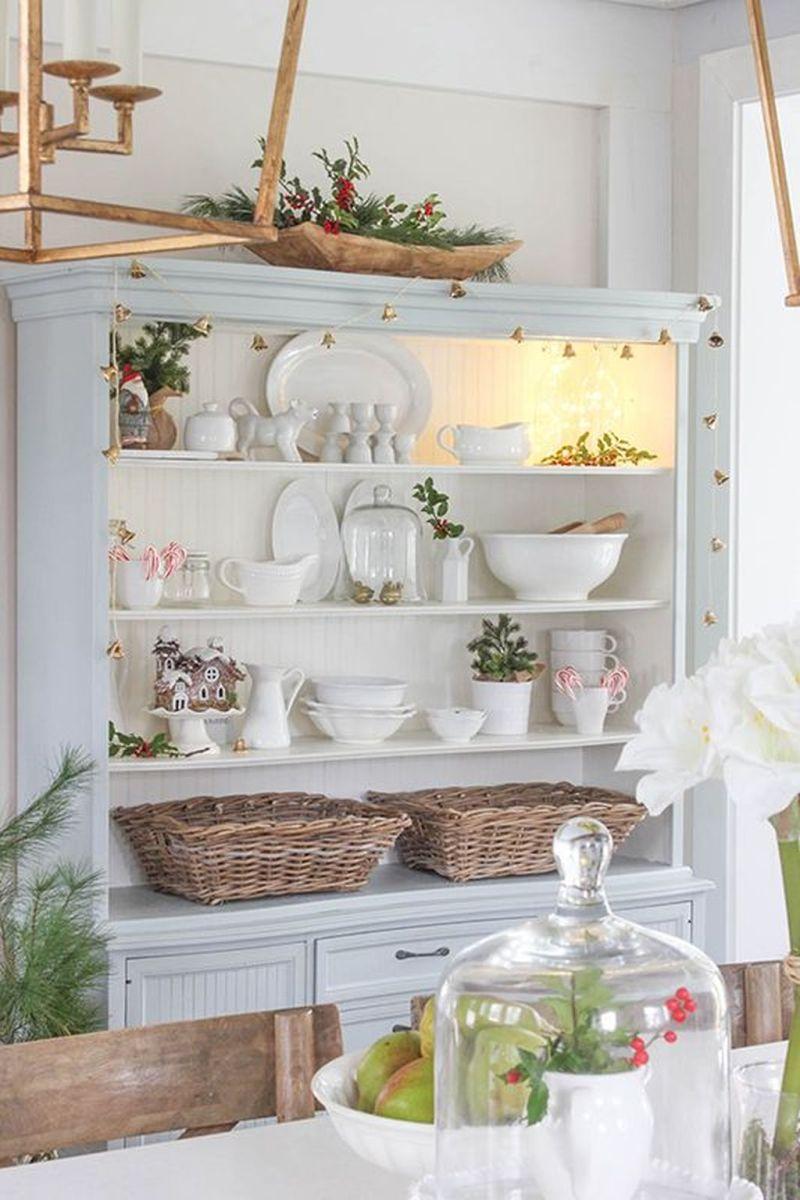 Stunning Winter Theme Kitchen Decorating Ideas 31