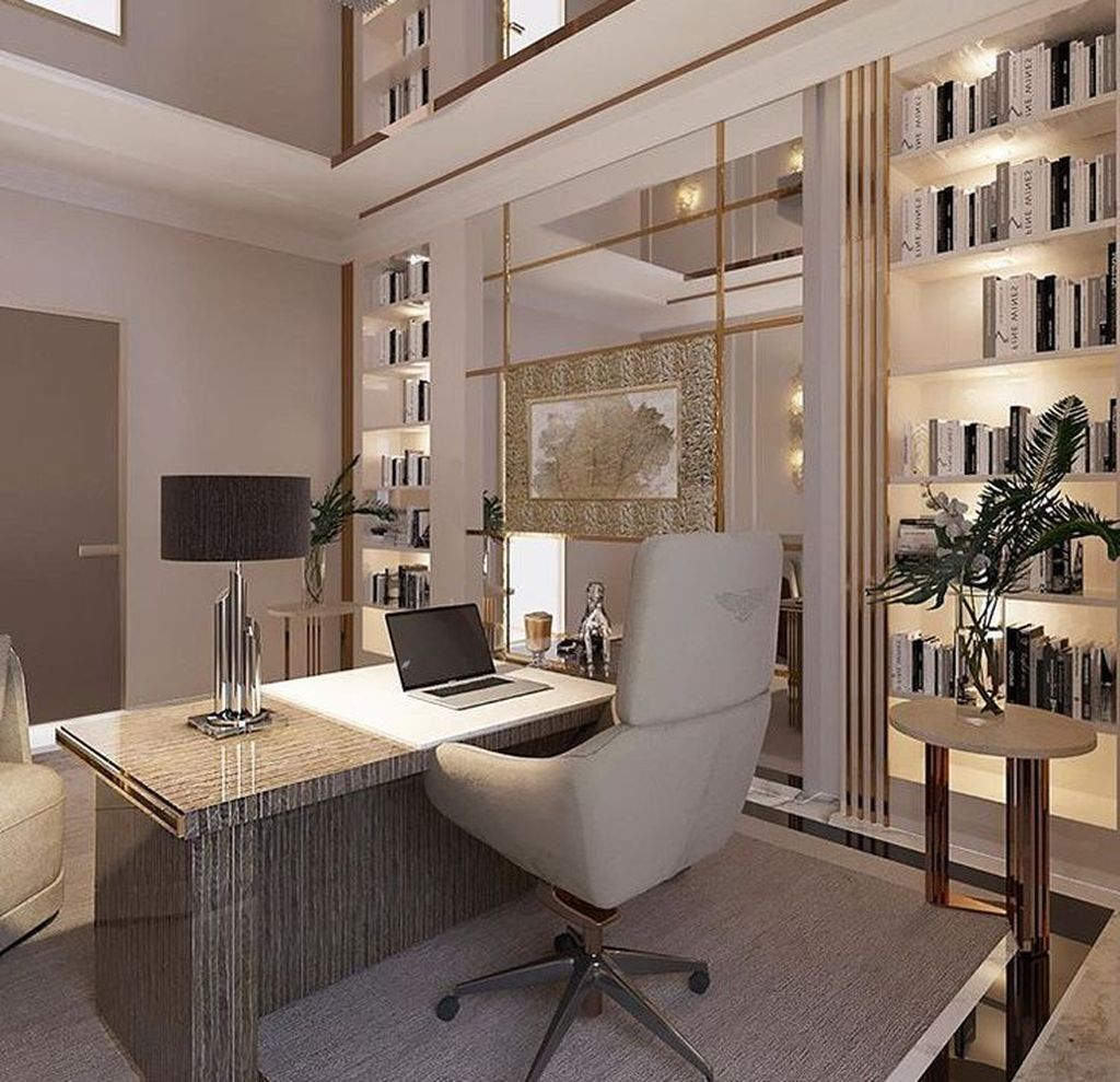 Admirable Modern Home Office Design Ideas That You Like 01